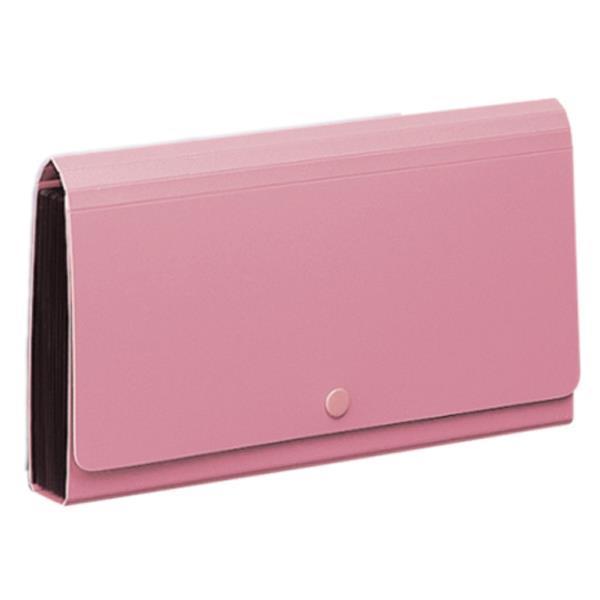 Comix αρχειοθήκη επιταγών PP ροζ Υ26.2x14.5x3εκ.