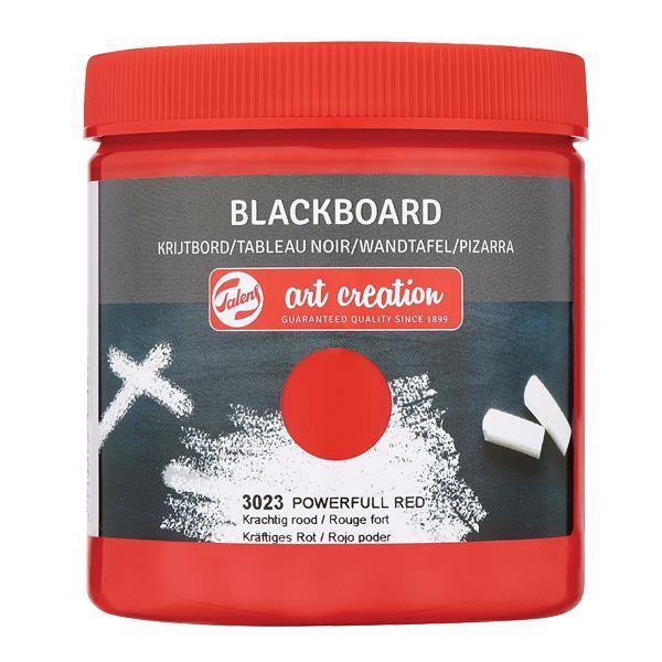Talens blackboard paint 3023 powerful red, 250 ml