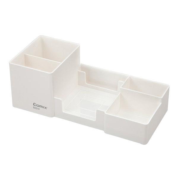 Comix σετ οργάνωσης γραφείου λευκό 25,4x11.2x9.1εκ.